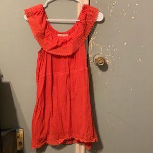 Forever 21 shoulder dress